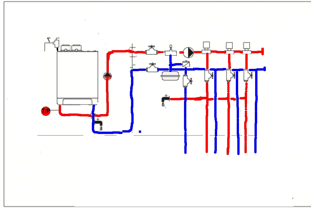 primary secondary piping diagrams zone valves  primary