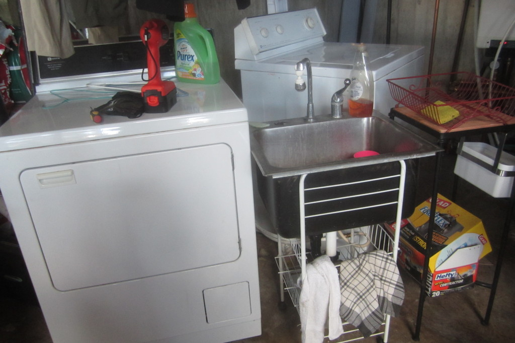 Dryer Installation Service : Washer dryer temporary install with repair