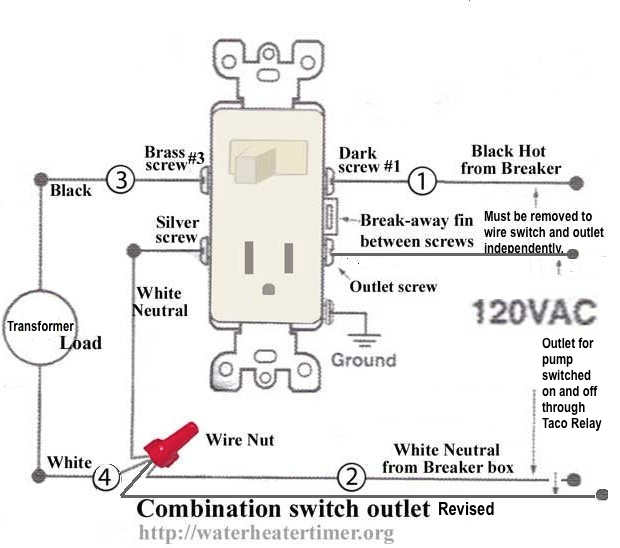 Gfci Outlet With Switch Wiring Diagram from blog.twinsprings.com