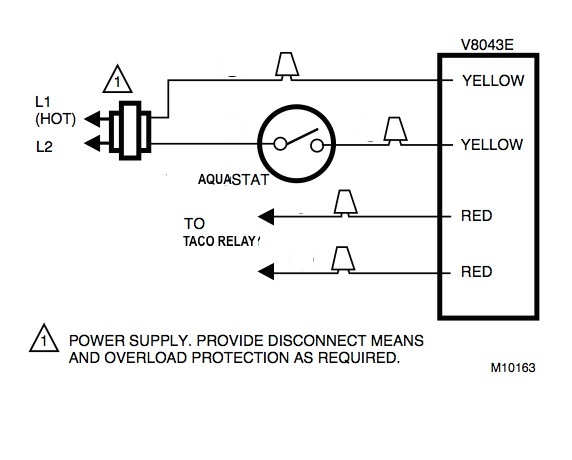 Honeywell zone valve wiring to Taco Relay 2 honeywell ra832a wiring diagram taco 007 wiring diagram \u2022 free honeywell 4 wire zone valve wiring diagram at soozxer.org