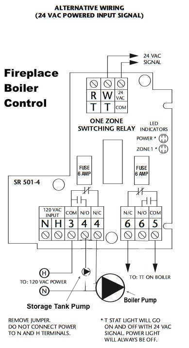 Taco Switching Relay Alt V Power on wiring taco zone control valves