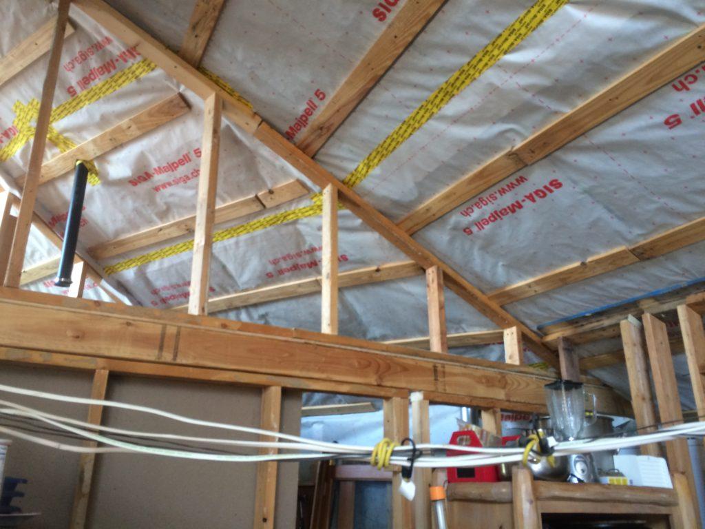 Temporary Wiring in Kitchen