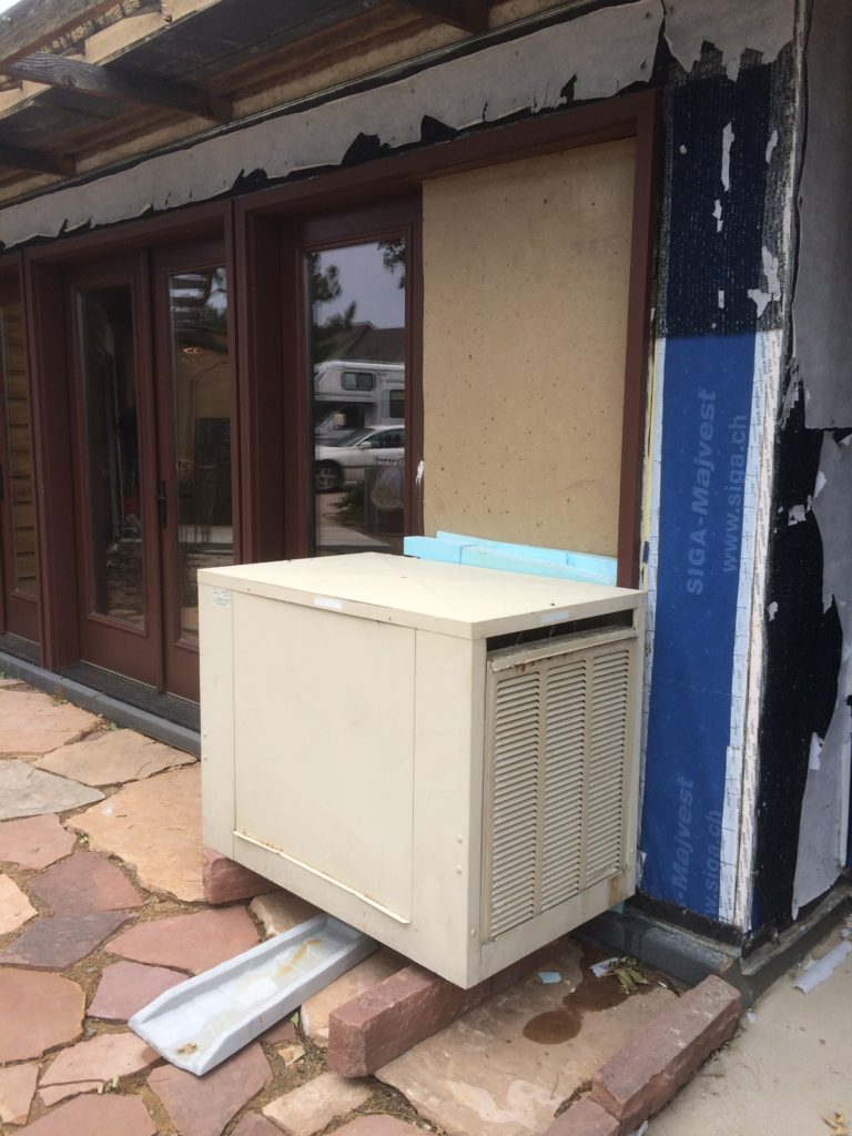 Evap Cooler Outside