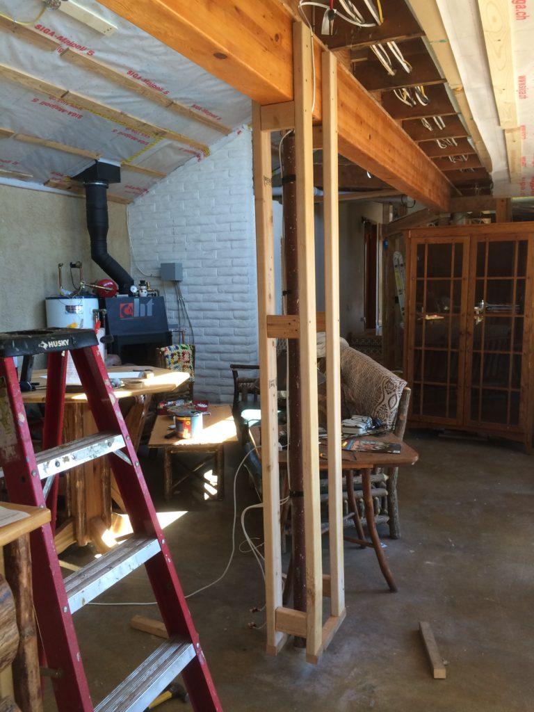 Living Room Pillar