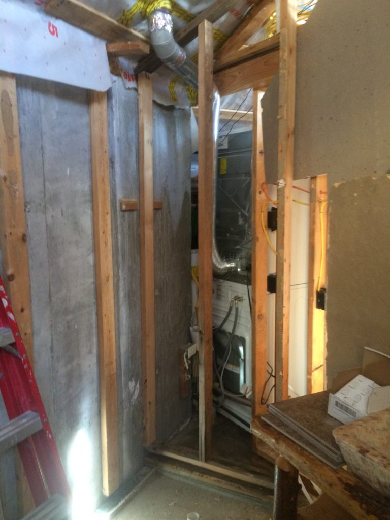 Guest Shower Wall