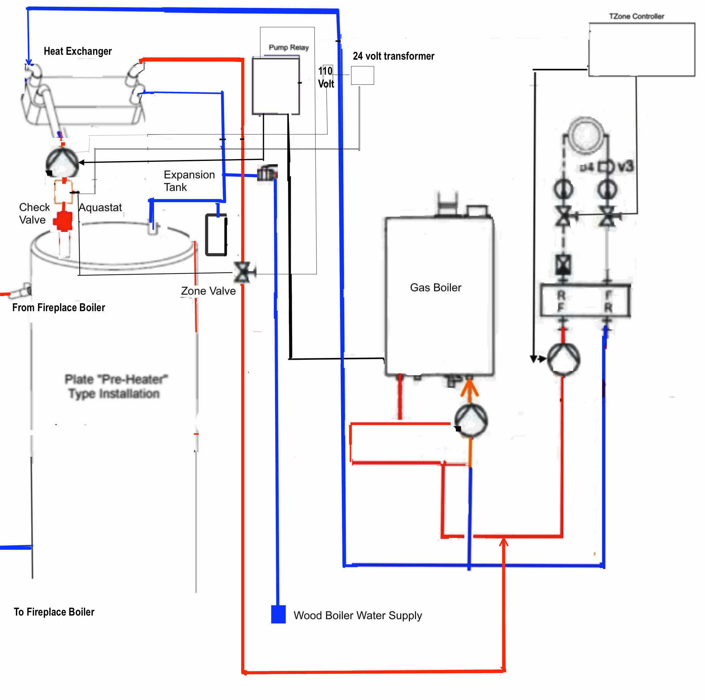 central heating control wiring diagram honeywell central heating thermostat wiring diagram #3